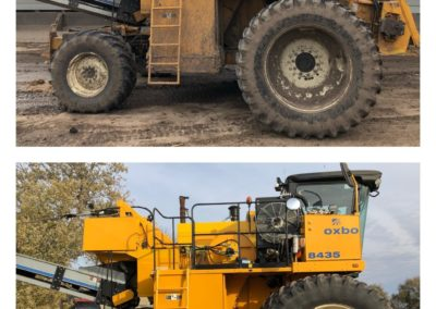 Farm Equipment Before and After